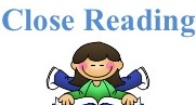 Close Reading program logo